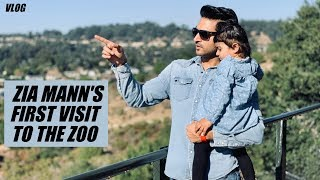 [VLOG] - Zia Mann's First Visit to the Zoo (San Francisco)