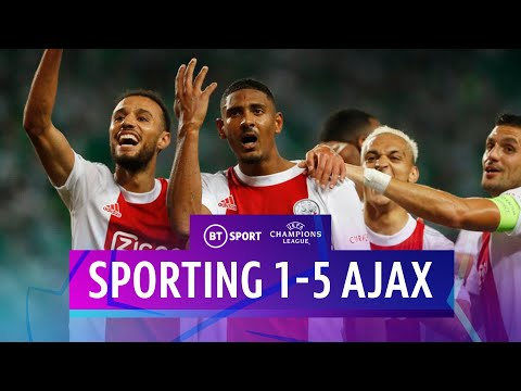 Sporting CP vs Ajax</a> 2021-09-15