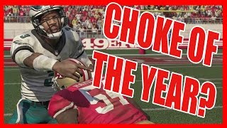 THE CHOKE OF THE YEAR?!? - Madden 16 Ultimate Team Gameplay | MUT 16 Gameplay