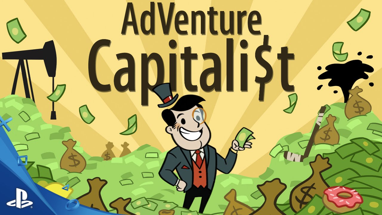 Go from Rags to Riches in AdVenture Capitalist, Out August 16 on PS4