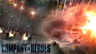 Company of Heroes: 14 Nebelwerfer 210mm Rocket Artillery Barrage (Blitzkrieg Mod)
