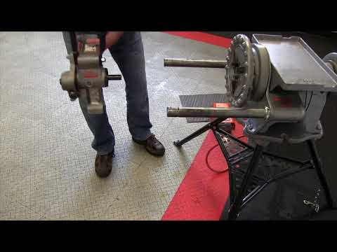 How to mount the RIDGID 916 on your 300 power drive