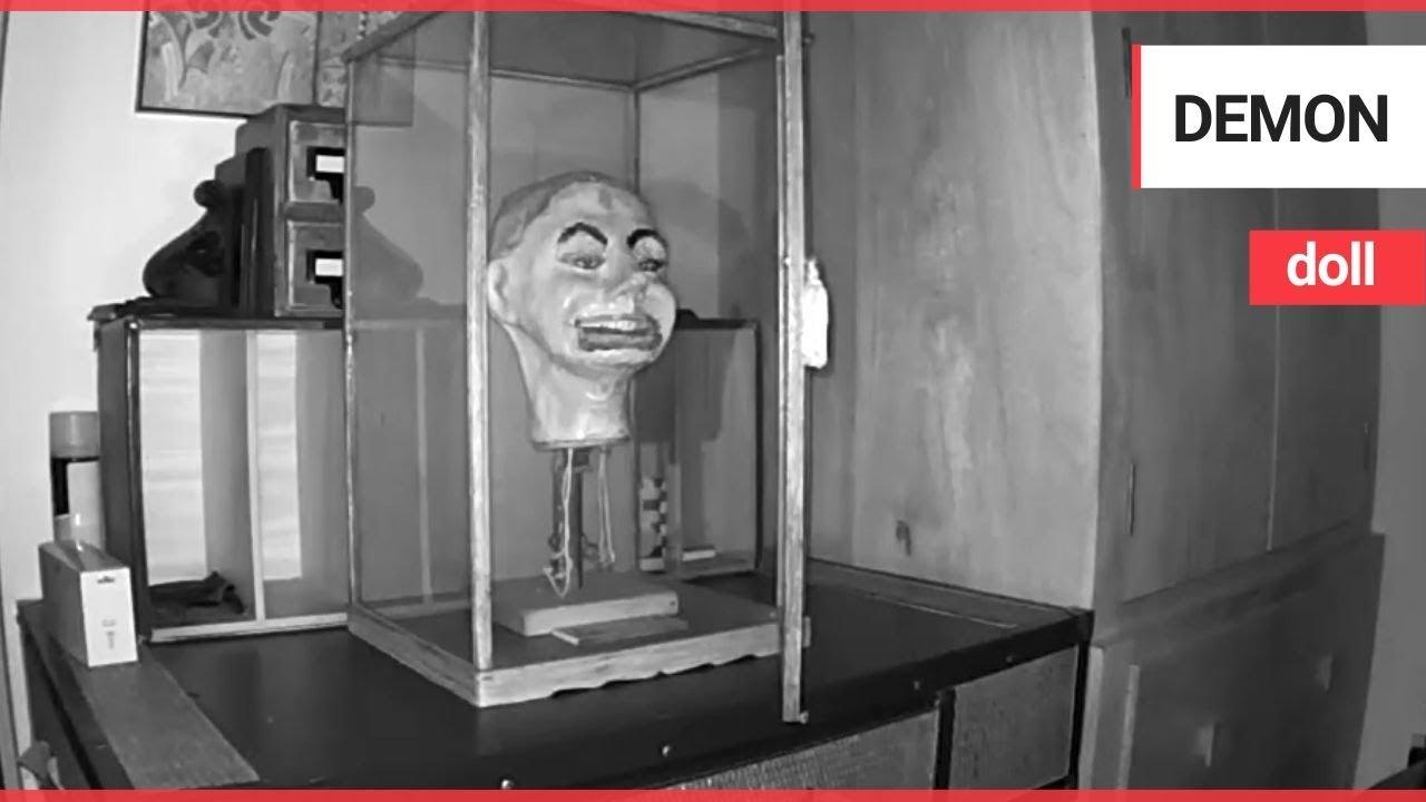 Ожила пугающая марионетка чревовещателя