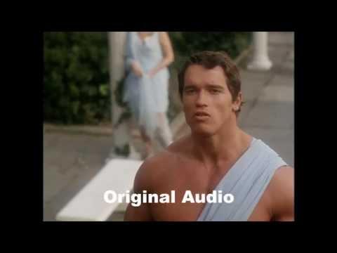 hercules in new york dubbed version vs original arnold