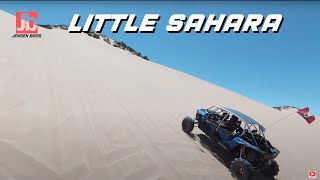 Polaris RZR Chase at Little Sahara Sand Dunes   DJI FPV