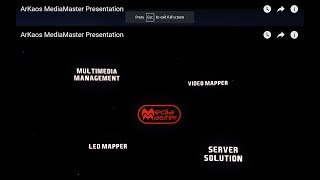 ArKaos MediaMaster Video Tutorial - 1. Presentation