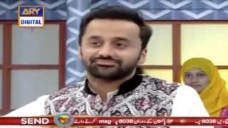 What Fahat Mustafa Said to Badami on his reaction after Fahad's kiss.