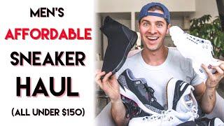 MENS SNEAKER HAUL | ALL UNDER $150 | SPRING 2018 | Jordan, ASOS, And More!