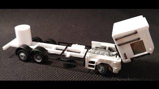 Car System Umbau Renault Magnum Hängerzug Mit Fahrgestell Aus Dem 3D Drucker