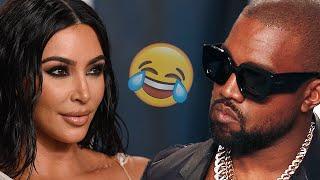 Kim Kardashian Gets Left Behind By Kanye In Hilarious Viral Video