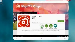 MegaTv Player  (TV En Vivo- Online ) Para Android 2017