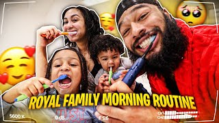 OUR FAMILY MORNING ROUTINE ☀️ | QUARANTINE STYLE