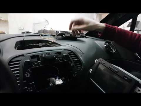 Renault Kaptur установка в машину