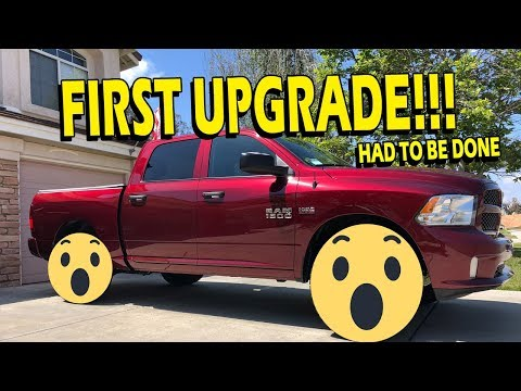 First Truck Upgrades! Fuel Off-Road Wheels (D556) & Toyo Tires - 18' Ram 1500