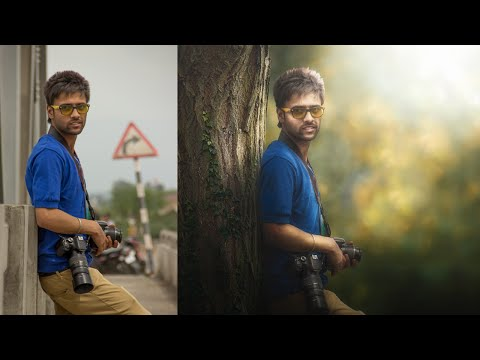 Photoshop Manipulation Tutorial - Change Background & Blending
