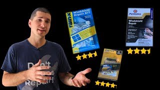 How to Fix Windshield Chips at Home using the 3 Highest Rated Kits on Amazon.