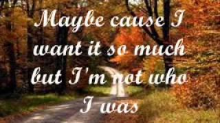 Brandon Heath - I'm Not Who I Was (Lyrics on screen)