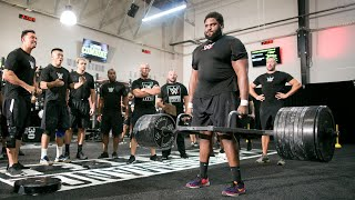 Omari Palmer's Record Breaking 800 Pound Deadlift: WWE PC Combine Sneak Peek
