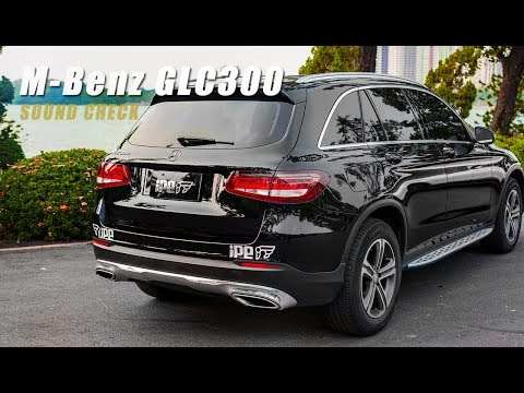 The iPE Exhaust for Mercedes-Benz GLC300 (X253)