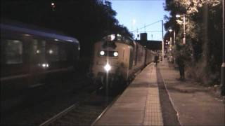 preview picture of video '55022 'Royal Scots Grey' Leaving Motherwell Station, 14/9/11'
