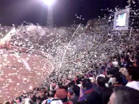 """Recibimiento a Wilsterman vs Guabira [Nacional B]"" Barra: Gurkas • Club: Jorge Wilstermann"