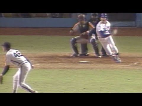 1981 NLDS Gm4: Russell smacks an RBI single to right