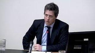 Hugh Grant Leveson inquiry