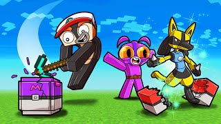 1v1 Pixelmon LUCKY BLOCK Challenge! (Minecraft Pokemon)