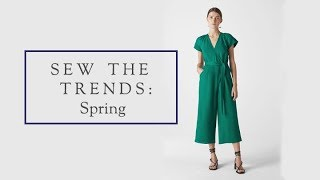 Sew The Trends Spring 2019    Fashion Sewing    The Fold Line