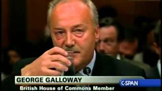 George Galloway Takes Out The US Senate Under Oath [BS free Version]