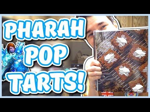 Overwatch - PHARAH POP-TARTS RECIPE (Chef You Wack)