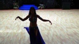 Восточный танец красивой девушки/ Восточные танцы!