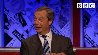 Nigel Farage plays 'Fruitcake or Loony'