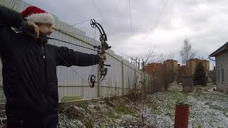 Блочный лук PSE против лопаты (пробивная способность) 43 метра. #почемуявыбраллук.