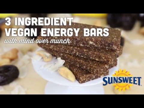Công thức làm thanh năng lượng với mứt mận Sunsweet