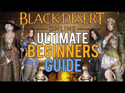 Black Desert Online - Ultimate Beginners Guide