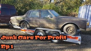 Junk Cars For Profit Ep 1: Box Chevy's Buy One Get One Free