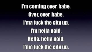 Chris Brown - Fuck The City Up w/ Lyrics