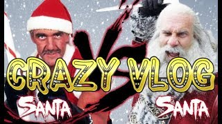 Crazy Vlog #12 Santa Claus Street Fighter | Шок! Драка дедов морозов