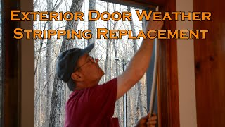How to replace an Exterior Door Weather Stripping