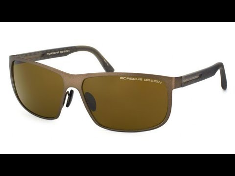 Porsche Design P8583 D Polarized Aviator Sunglasses【4K】