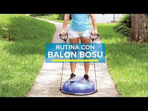 Rutina con Balón Bosu de TVOFFER | OFERTEL