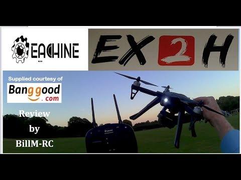 Eachine EX2H Flight & Features tests