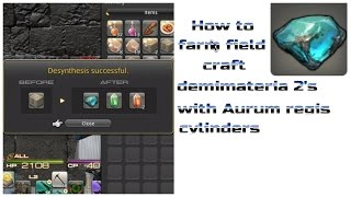 Farming field craft demimateria 2's