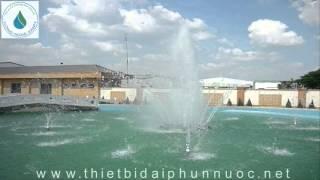 Video kiểu phun múa - đầu phun nước WATER DANCING
