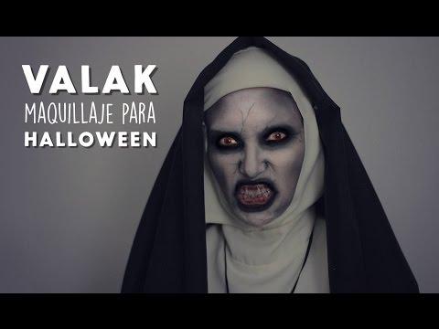 Maquillaje de Valak / El Conjuro 2 MUY FÁCIL!