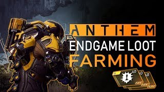 Anthem - BEST Gear Farming Method! Get MASTERWORK & LEGENDARY Loot Fast (No Exploits)