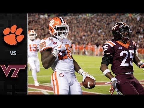 Clemson vs. Virginia Tech Football Highlights (2017)