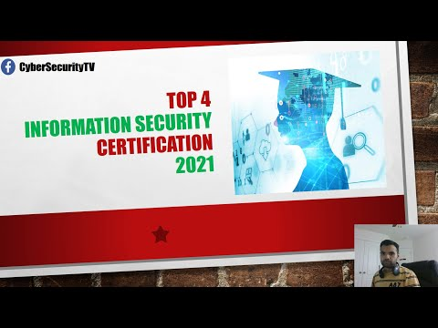 Best Cyber Security Certifications For 2021 - YouTube
