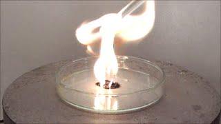 Chemical ignition with permanganic acid